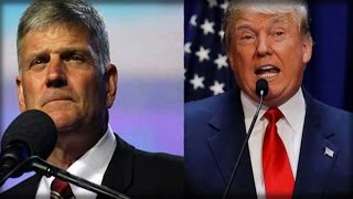 FRANKLIN GRAHAM TAKES STAGE RIGHT AFTER TRUMP, IMMEDIATELY POINTS OUT SIGN OF GOD'S FAVOR