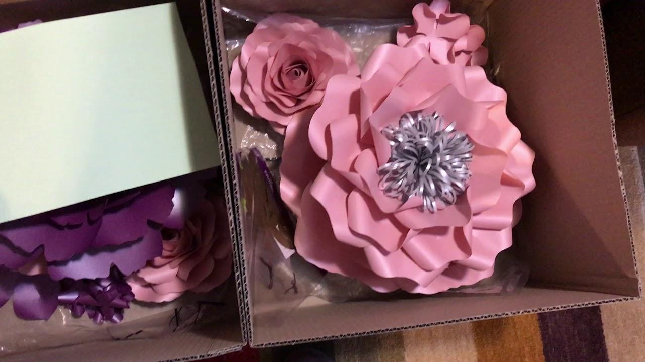 Paper Flowers By Sydneypaperflowers How We Pack Paper Flowers