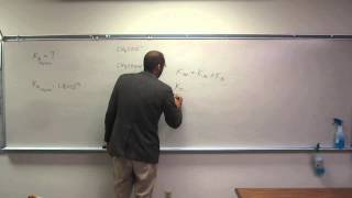 Calculate Base Dissociation Constant (Kb) of a Base From the Ka of Its Conjugate Acid 001