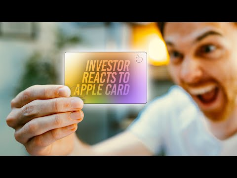 Apple Investor Reacts to APPLE CARD