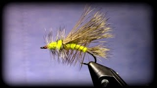 Fly Tying: Stimulator Dry Fly