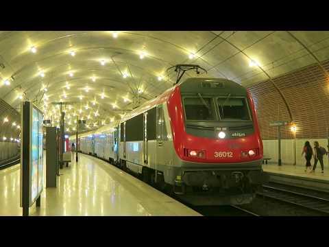 Eurocity Thello 141/142, Milano ‐Nice tracté par une BB36000 à Monaco Monte Carlo