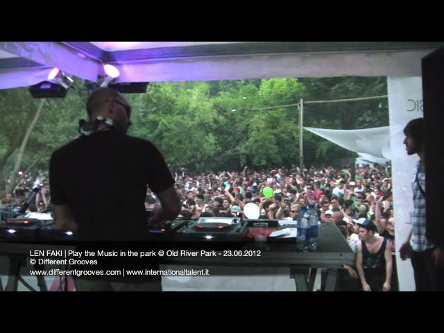 LEN FAKI   Play the Music in the park @ Old River Park - 23.06.2012 video3