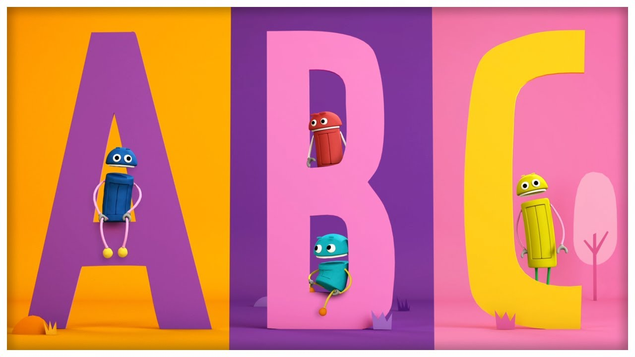 quotthe abc songquot classic songs by storybots youtube