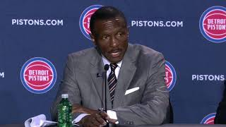 New Pistons coach Dwane Casey on his roster