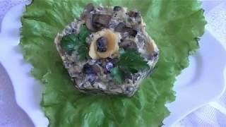 Как Приготовить-Сырный Салат Видео Рецепт