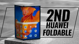 Huawei's SECOND foldable phone is here! Huawei Mate XS hands on!