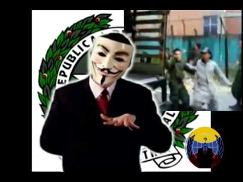 Mensaje De Anonymous Colombia A La Policía Nacional.