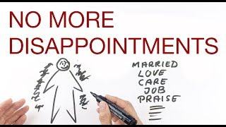 NO MORE DISAPPOINTMENTS explained by Hans Wilhelm
