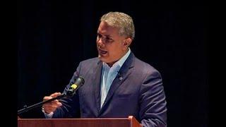 Nicolás Maduro es un genocida: Duque en Nueva York