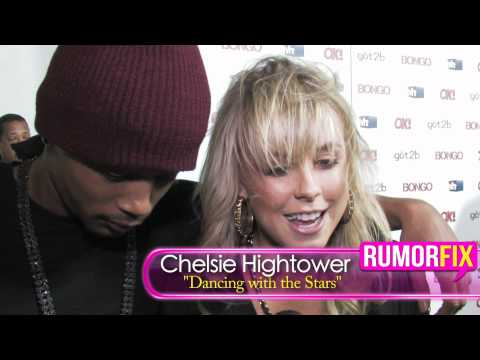 Chelsie Hightower Talks Mark Ballas And Pia Toscano