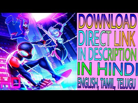 Spider-Man: Into The Spider-Verse Full Movie In Download Link Description