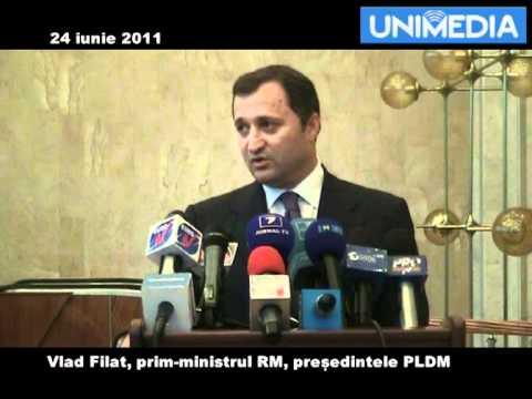 Vlad Filat ii raspunde lui Plahotniuc