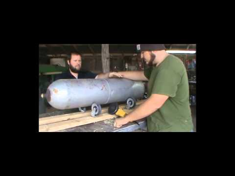 Turning a Cylinder into a Beautiful Sounding Bell.