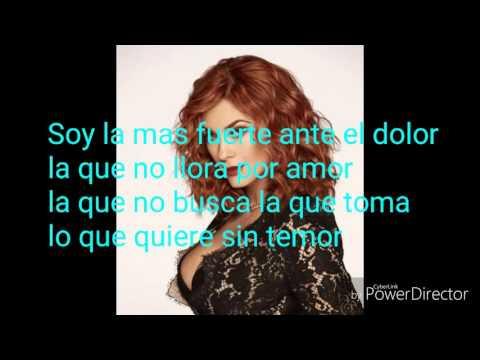 Aracely Arámbula Yo no Nací para Amar letra