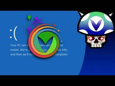 [Vinesauce] Joel - Post Charity 2016 ( Windows 10 Destruction Part 3 )