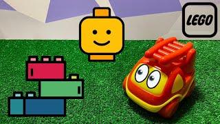 Детские видео с Lego Duplo Молния Маккуин Человек Паук Микки Маус и другие Машинка Мотя