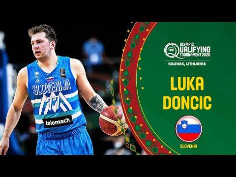Luka Magic! | Luka Doncic dominates Angola | FIBA Olympic Qualifying Tournament