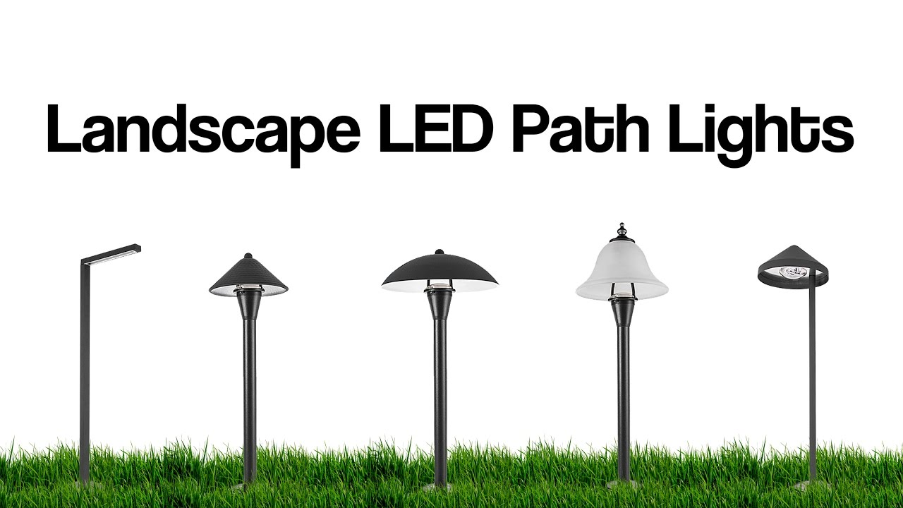 led landscape lights outdoor led lighting options