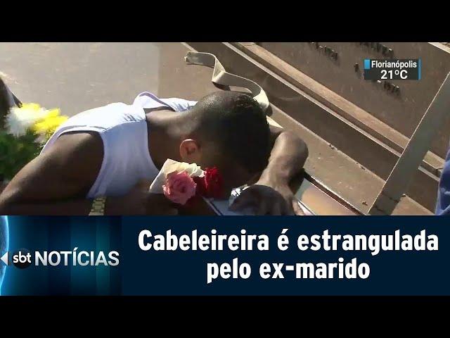 Cabeleireira é estrangulada pelo ex-marido | SBT Notícias (11/03/19)