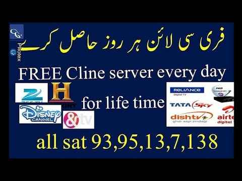 How to free cline free server 1year free cline cccam 2017 /100%working