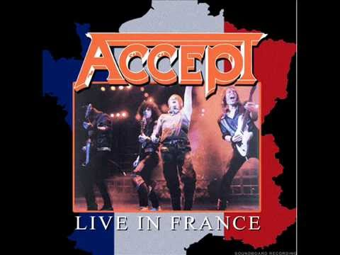 Accept - Get Ready Live In France  1983