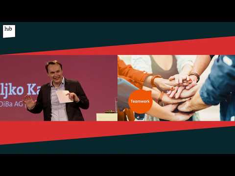 Becoming Germany's first agile Bank | Zeljko Kaurin | hub.berlin 2017