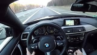 BMW 440i - POV acceleration over 260 km/h - Vmax