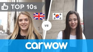 Do you say car brands correctly? | Top10s