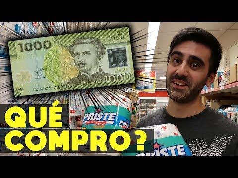 QUE COMPRO CON $1000 PESOS CHILENOS EN ARGENTINA | VIVIR CON $50 PESOS ARGENTINOS O $1.5 DÓLARES