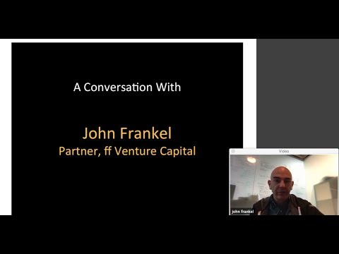 379th 1Mby1M Roundtable December 21, 2017: With John Frankel, ff Venture Capital