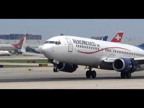 (HD) Planespotter's Joy - Airliners HD Planespotting - Chicago O'Hare International Airport
