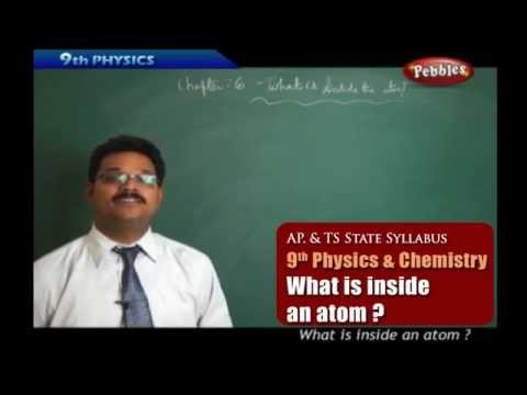 What is inside an atom ?- Class 9th State Board Syllabus Physics and chemistry