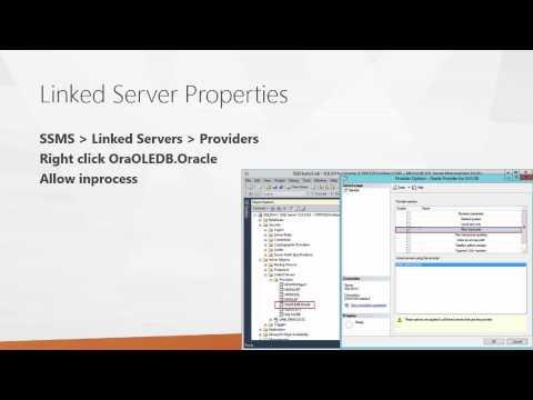 SQL Server Linked Servers - YouTube