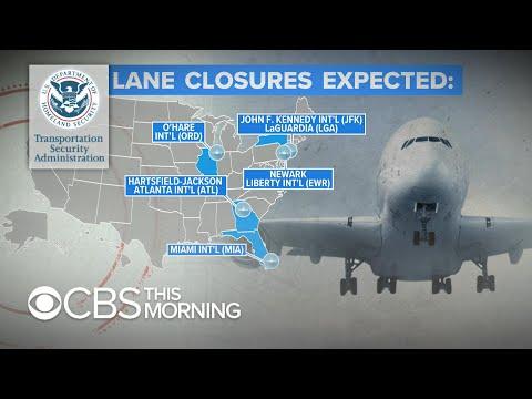Shutdown, TSA sick calls, and weather lead to travel delays