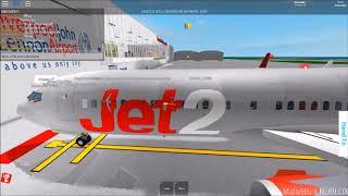 ROBLOX - Jet2 Boeing 737-800 Flight