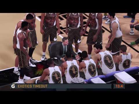 Crying Jordan Jerseys - NBA 2K16 MyTeam Road To The Playoffs #6