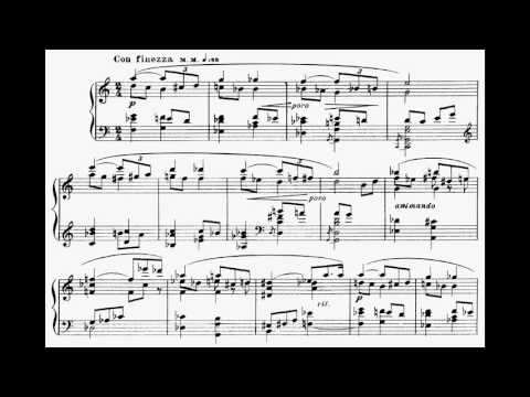 Alexander Scriabin ‒ 3 Pieces, Op.49