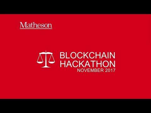 Matheson Blockchain Hackathon