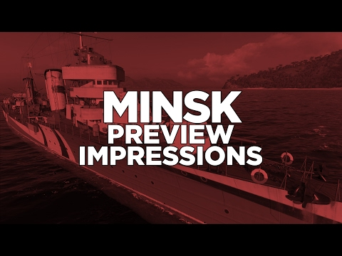 World of Warships - Minsk Preview Impressions