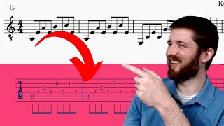 How to Instantly Convert Sheet Music to Tab Notation for Free! with MuseScore 3