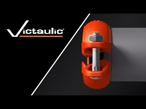 Victaulic Installation-Ready Grooved Coupling Animation - Welding Alternative Solution