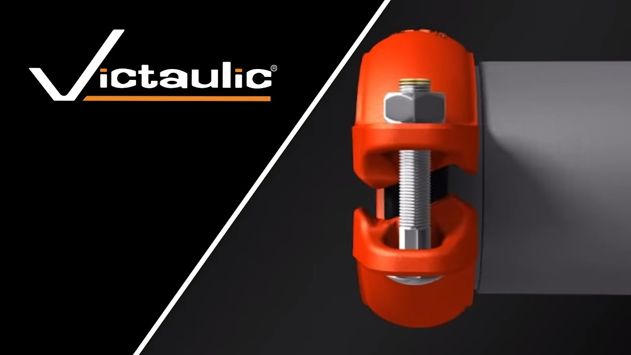 Victaulic InstallationReady Grooved Coupling Animation