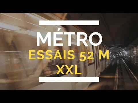 Essais Métro XXL Toulouse En Station