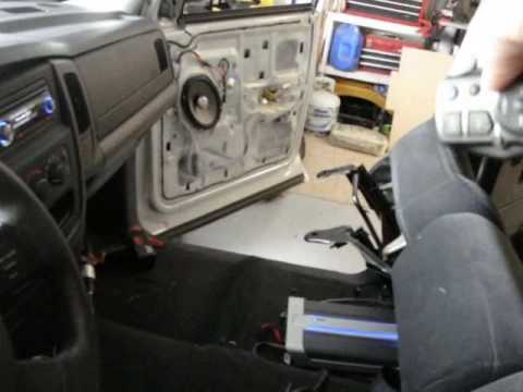 Dodge Stereo Wiring Diagram 05 Dodge Ram Sound System Youtube