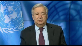 UN chief on climate change and COVID-19 at the Petersberg Virtual Dialogue (Berlin, Germany)