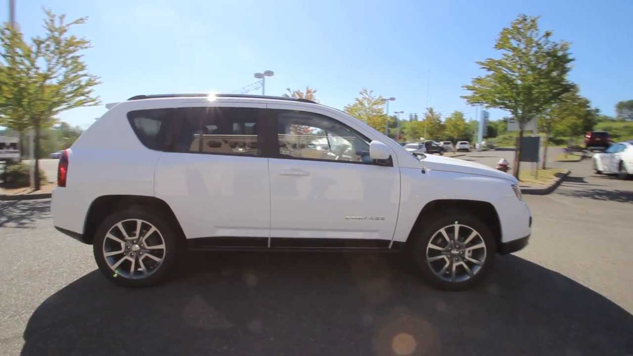 ED575486 | 2014 Jeep Compass Limited | DCJofMonroe | White - YouTube