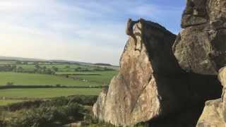 Louis Parkinson - Bouldering at Almscliffe