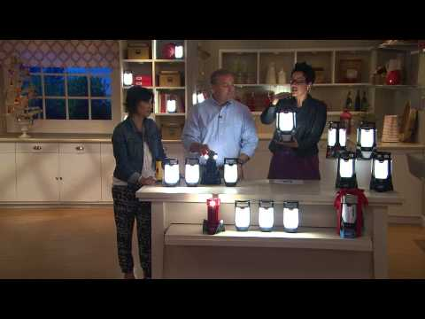 Coleman Rechargeable Triago Hi/Lo Lantern w/ 3 Panels with Amy Stran