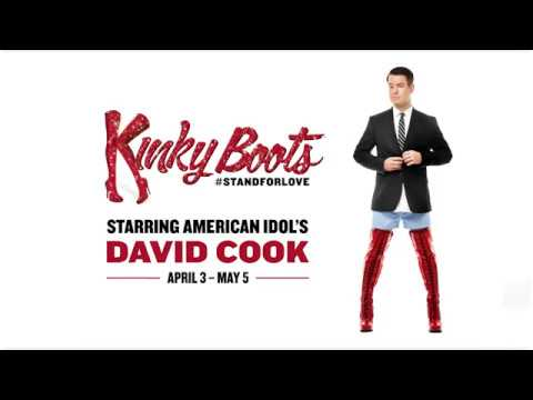 American Idol's David Cook Struts into KINKY BOOTS on Broadway